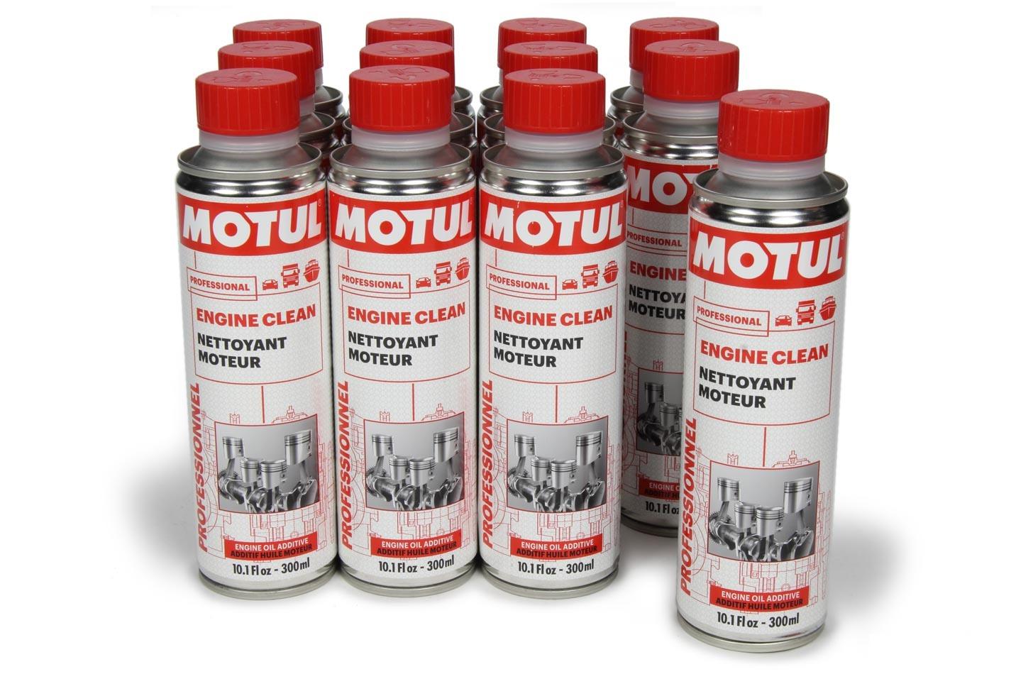 Motul Usa Engine Clean Auto Case 12 x 10oz