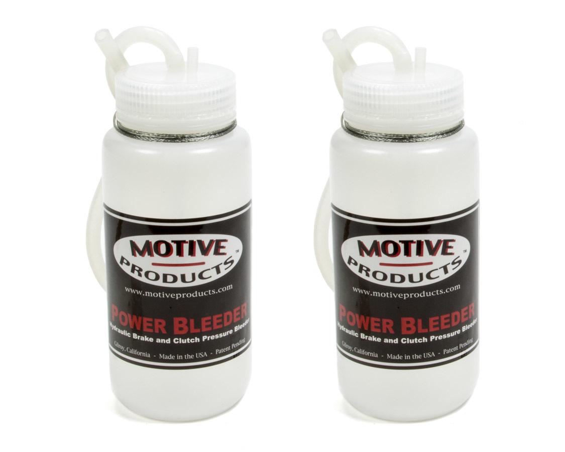 Motive Products Brake Fluid Catch Bottle Kit 2 Bottles