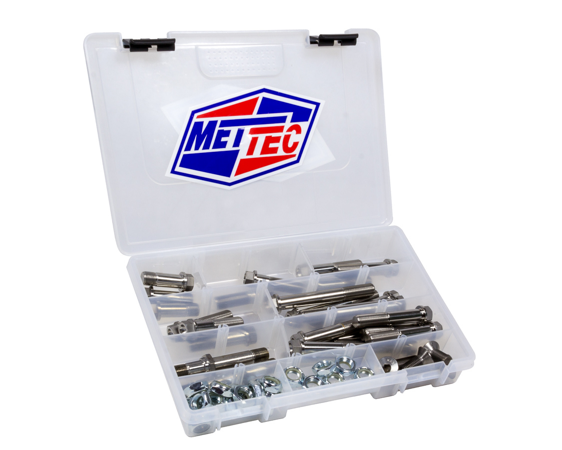 Mettec 1/2in Bolt And Nut Kit 9/16 Hex Maxim And XXX