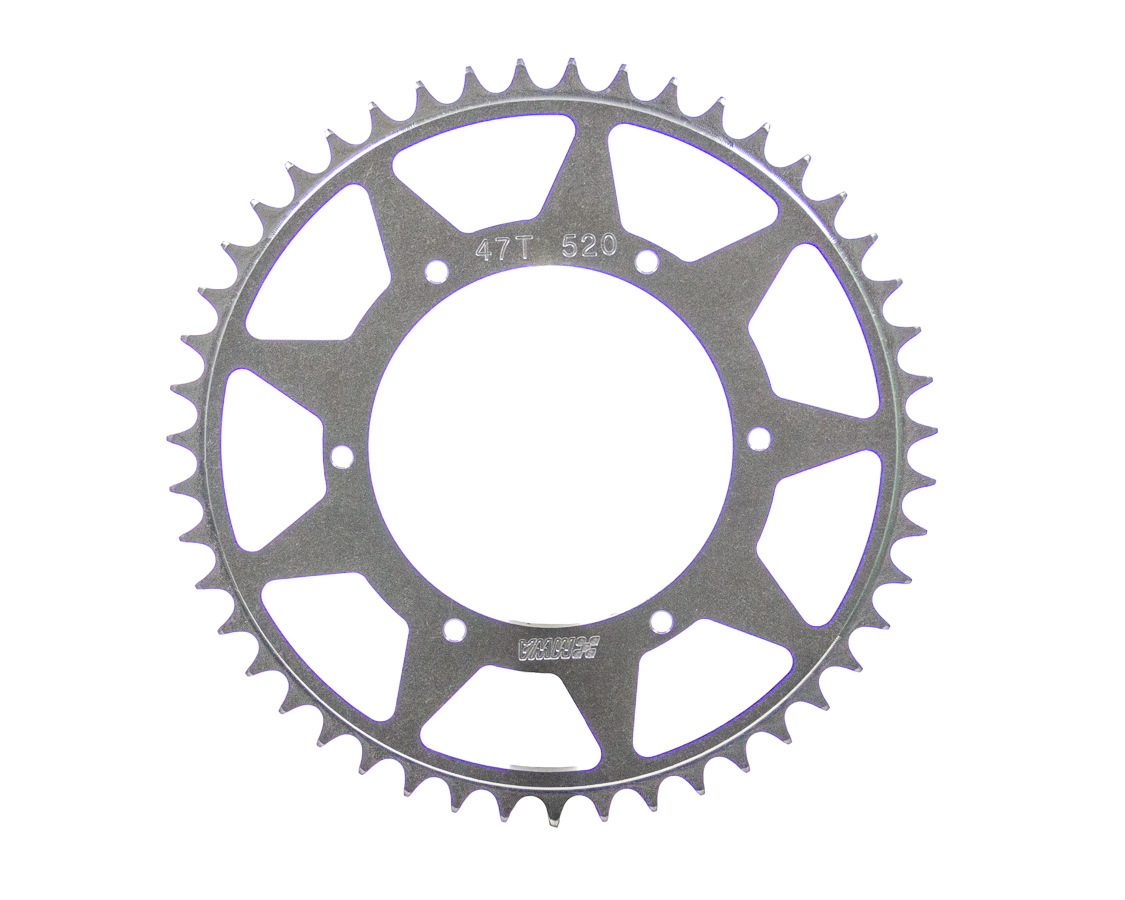 M And W Aluminum Products Rear Sprocket 47T 5.25 BC 520 Chain