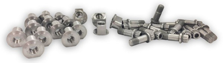 Mark Williams Hardware Kit - For Slot- Drive Rear Brake Rotors