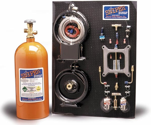 Nitrous Oxide Systems Sniper Nitrous System Holley 4-BBL