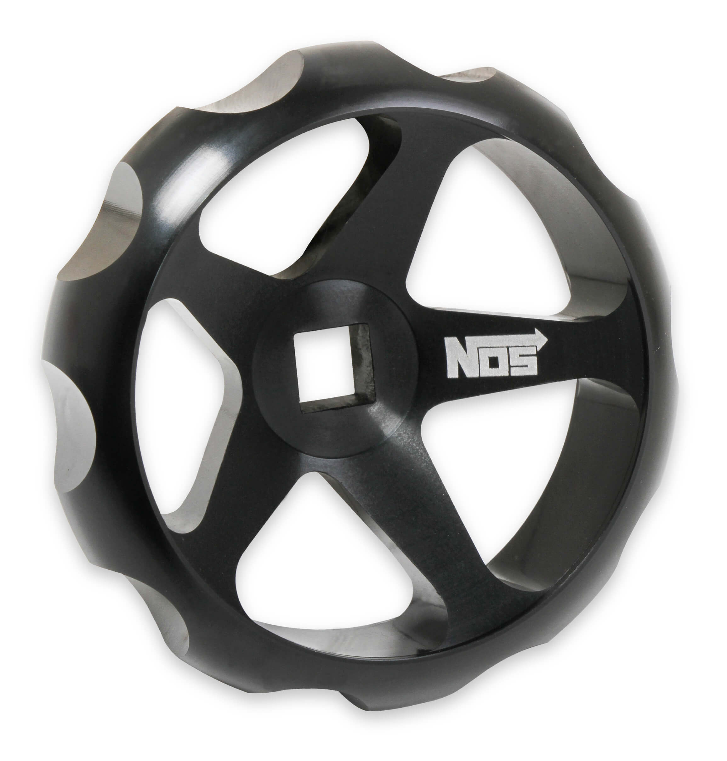 Nitrous Oxide Systems Billet Hand Wheel for NOS Bottle Valves