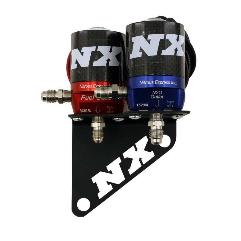 Nitrous Express Solenoid Bracket - GM LS RH Cylinder Head