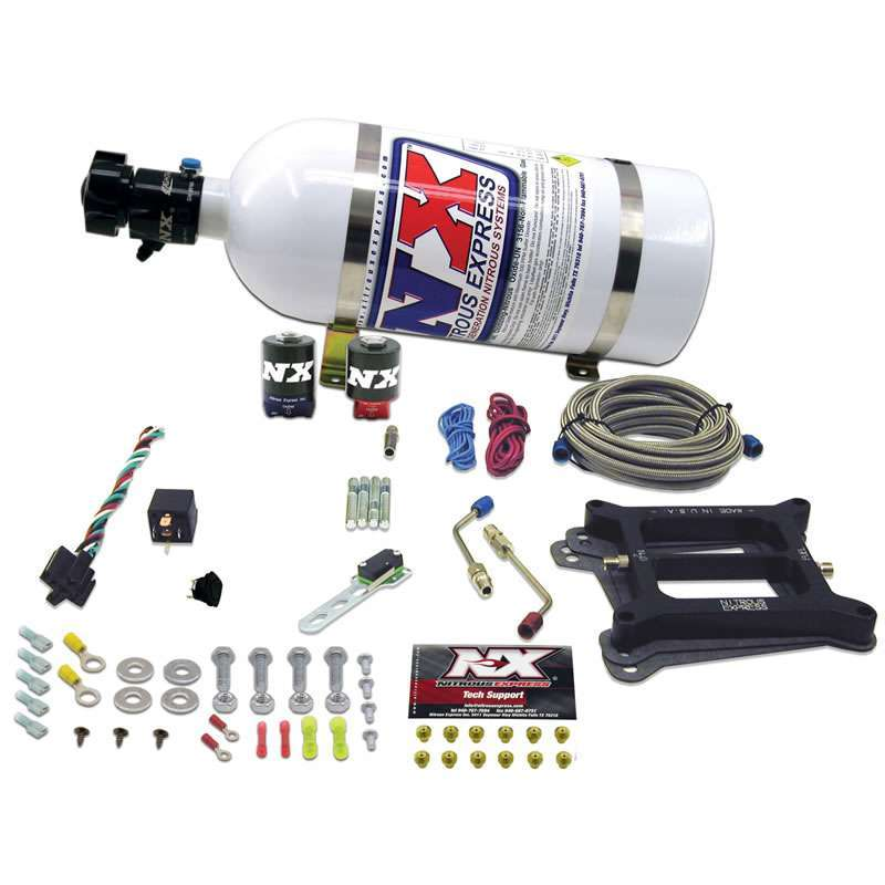 Nitrous Express Stage SIX Nitrous System - 4150 Holley