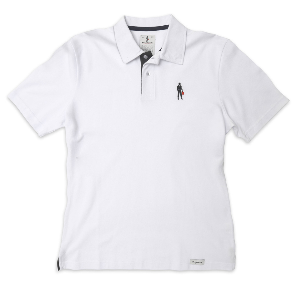Omp Racing, Inc. Short Sleeves Polo Driver Icon White XXL