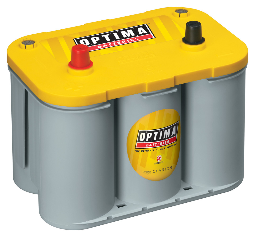 Optima Battery Battery Yellow Top 750cc a/870ca 34 Top Post