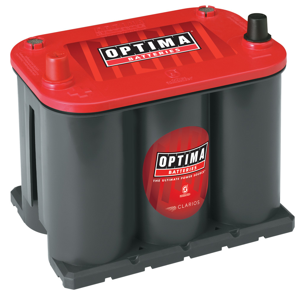 Optima Battery Battery Red Top 720cca/9 10ca 25 Top Post