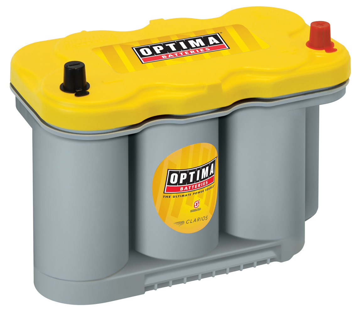 Optima Battery Battery Yellow Top 630cc a/1025ca D27F Series