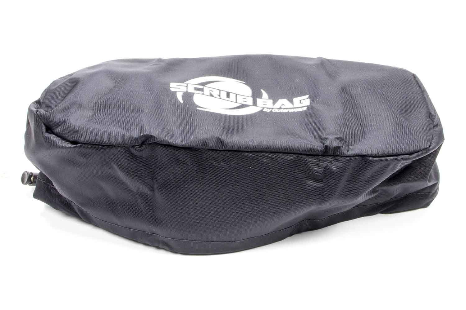 Outerwears 3.5 in Oval Scrub Bag Black