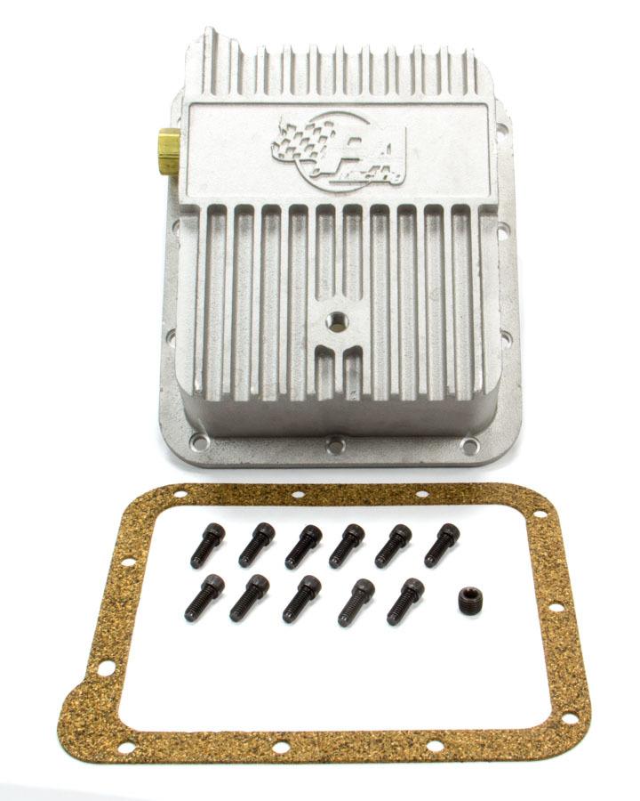 Performance Automatic Ford C4 Deep Alum Trans Pan (Pan Fill)