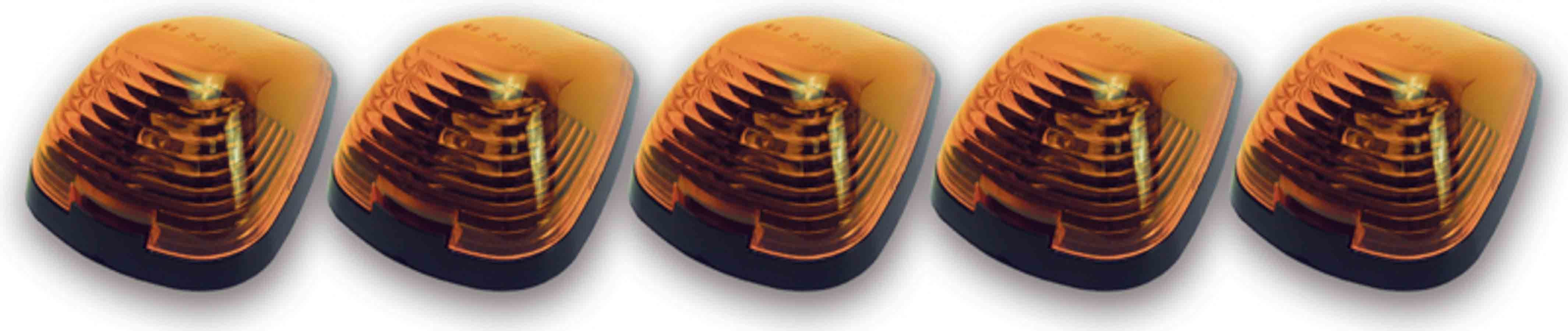 Pacer Performance Cab Roof Lights Amber 99-     Ford P/U LED