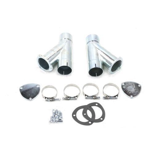 Patriot Exhaust Exhaust Cut-Out Hook-Up 3in Kit