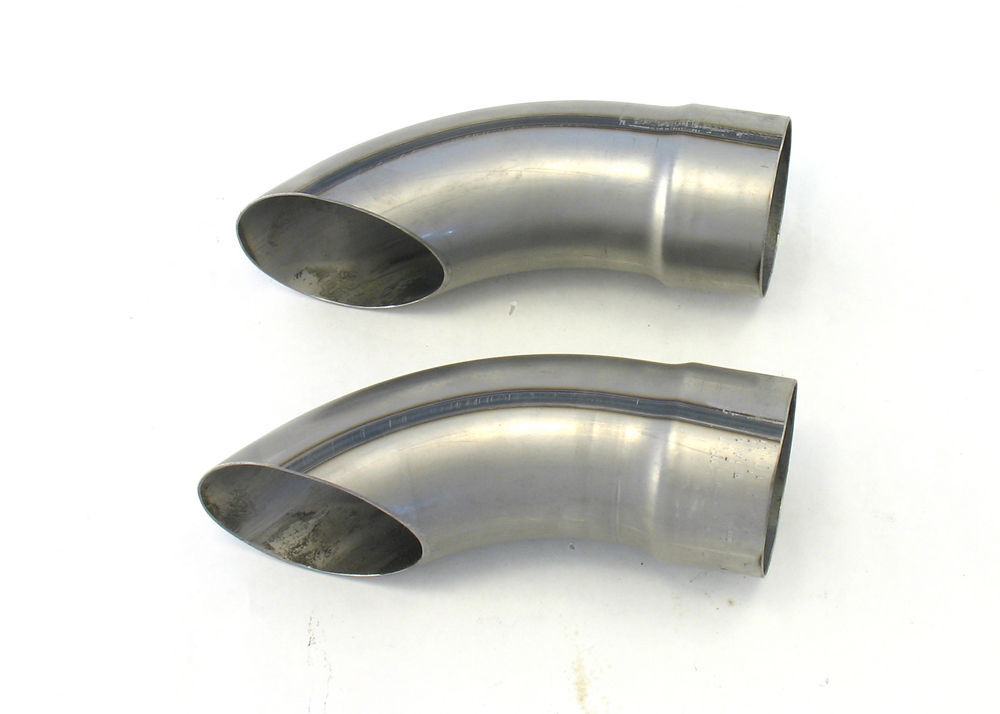 Patriot Exhaust Exhaust Turnouts - 3-1/2in x  9in Long