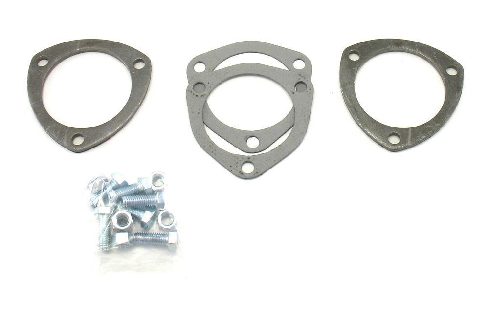 Patriot Exhaust Collector Flanges - 1pr 3-Bolt- 3in Dia.