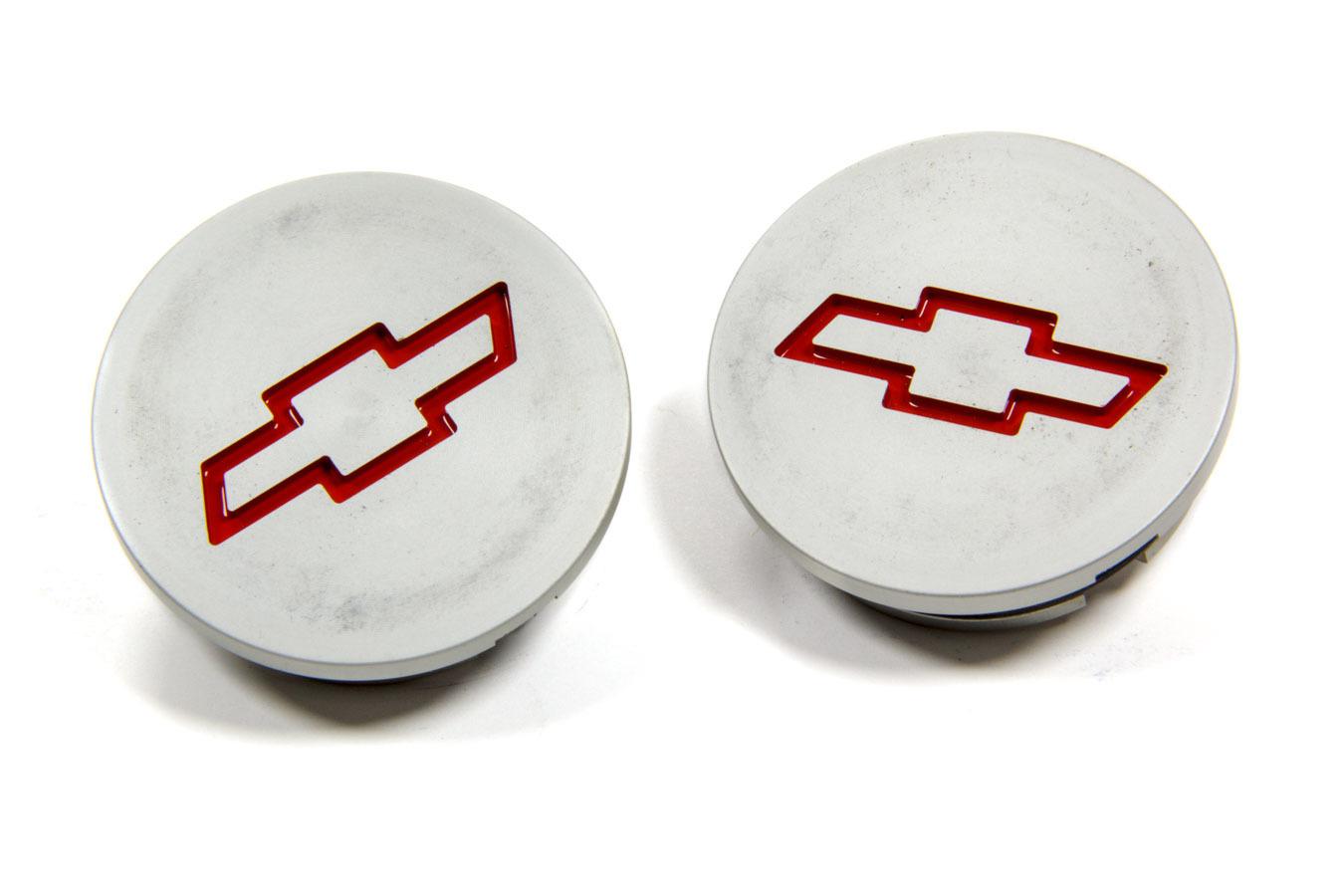 Proform Billet Alum Freeze Plug Insert- Red Bowtie 2pcs