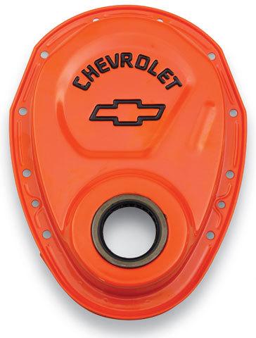 Proform Timing Chain Cover - 69-91 GM Orange
