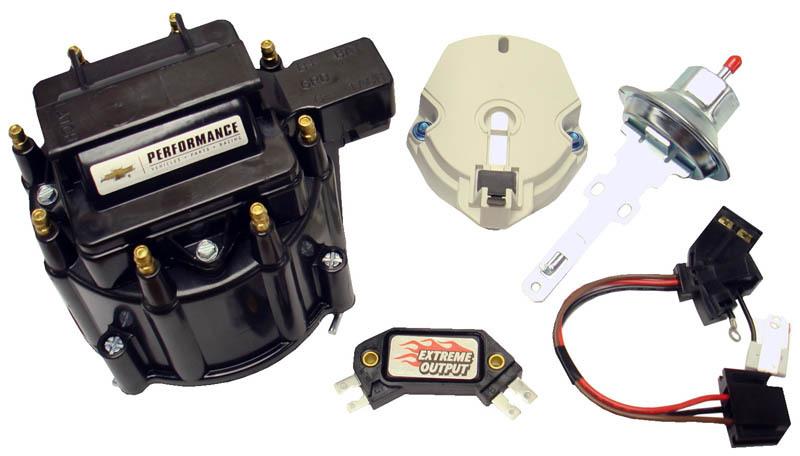 Proform GM HEI Distributor Tune Up Kit Black Cap
