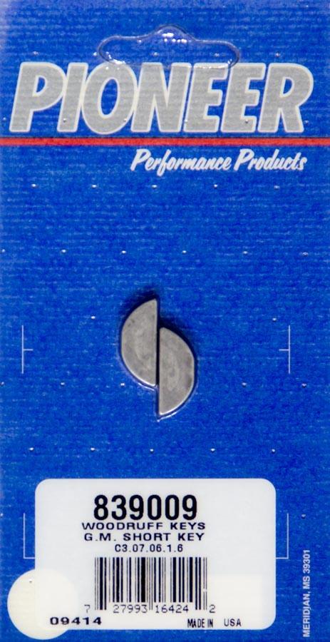 Pioneer Woodruff Key Kit