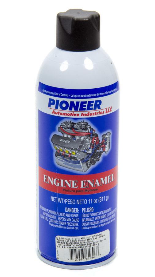 Pioneer Engine Paint - Semi Glos Black