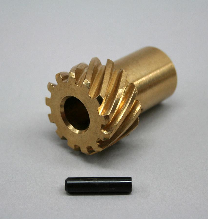 Prw Industries, Inc. Bronze Distributor Gear - .491 ID Chevy V8 R/R