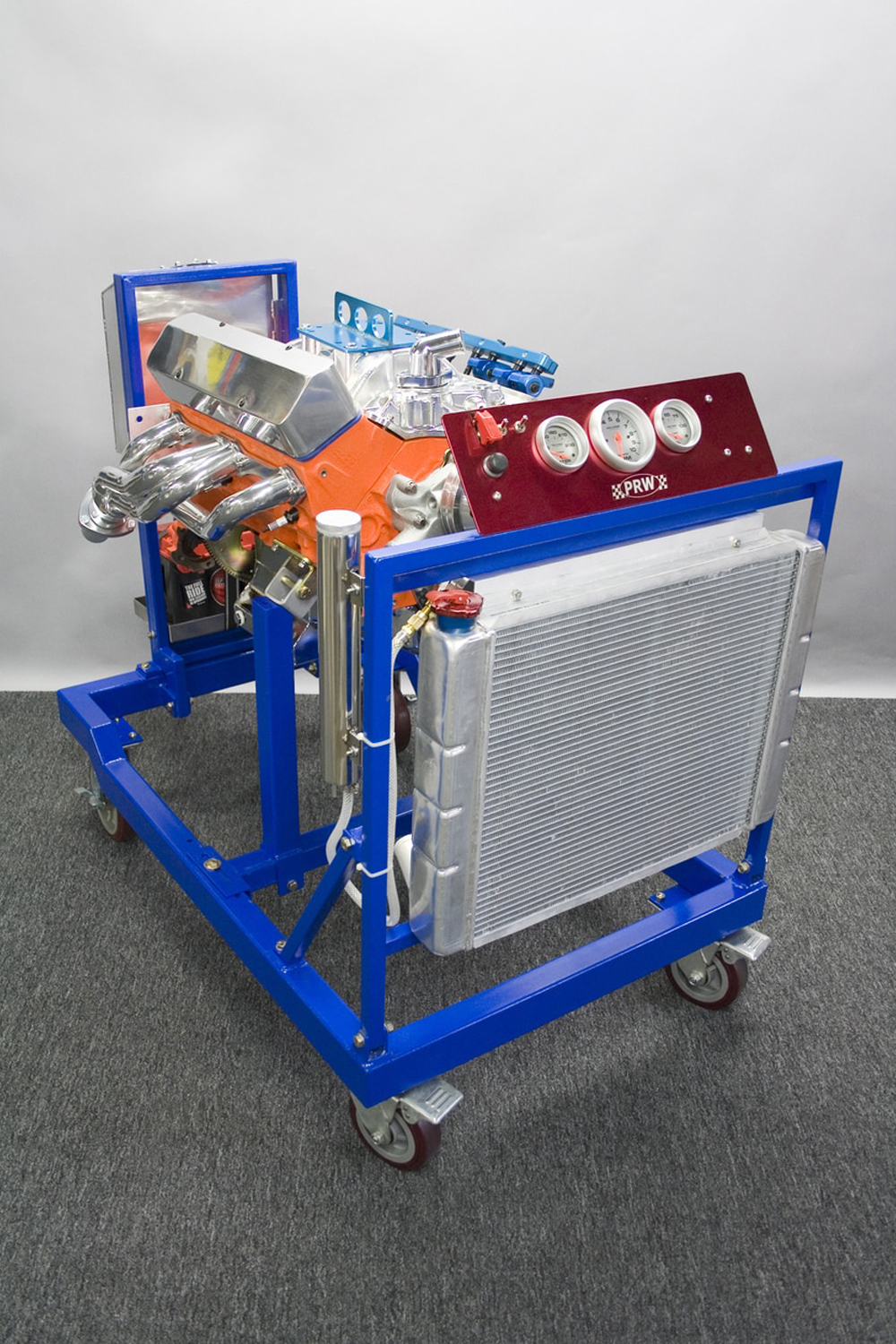 Prw Industries, Inc. Racing Engine Test Stand w/Short Block Adapter