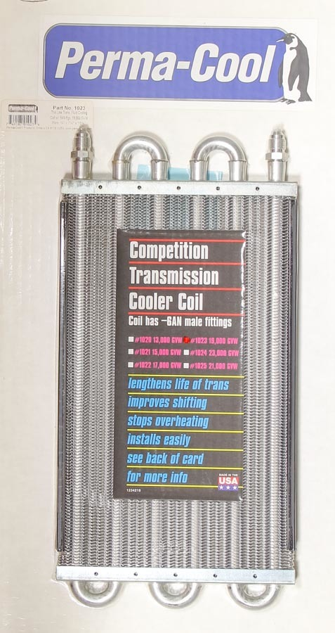 Perma-cool Competition Oil Cooler -6AN GVW 19000