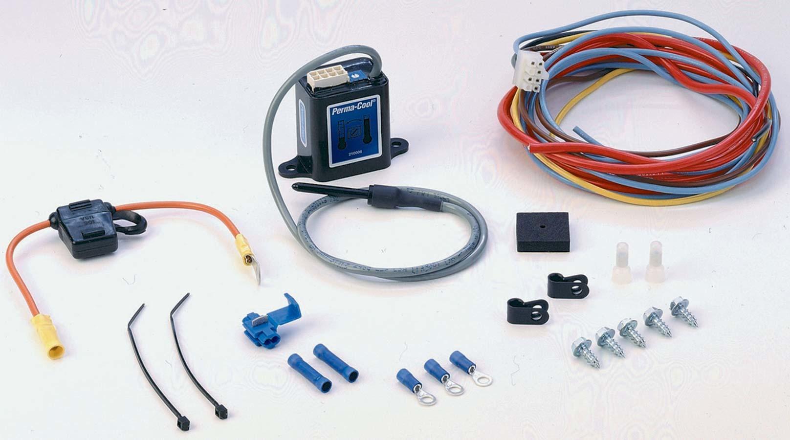 Perma-cool Adjustable Elec. Fan Wiring Kit Probe