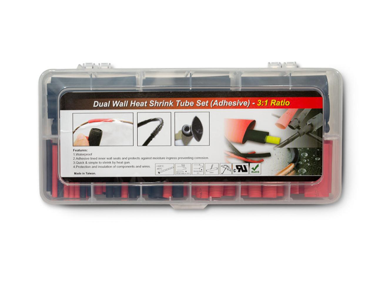 Pertronix Ignition Shrink Tube Set 106pk Dual Wall Heat