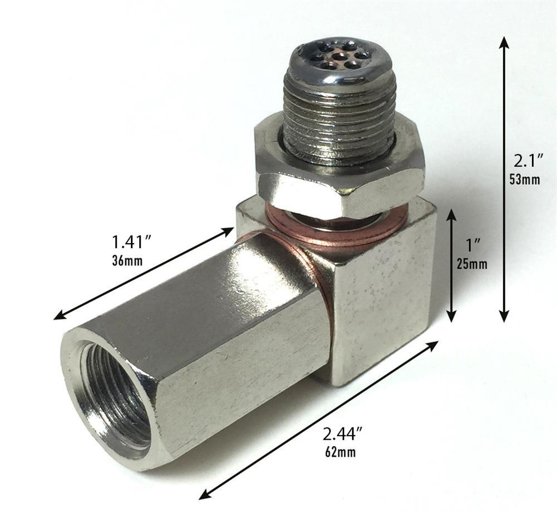 Prosport Gauges Sensor Extension O2 Mini Catalytic Converter