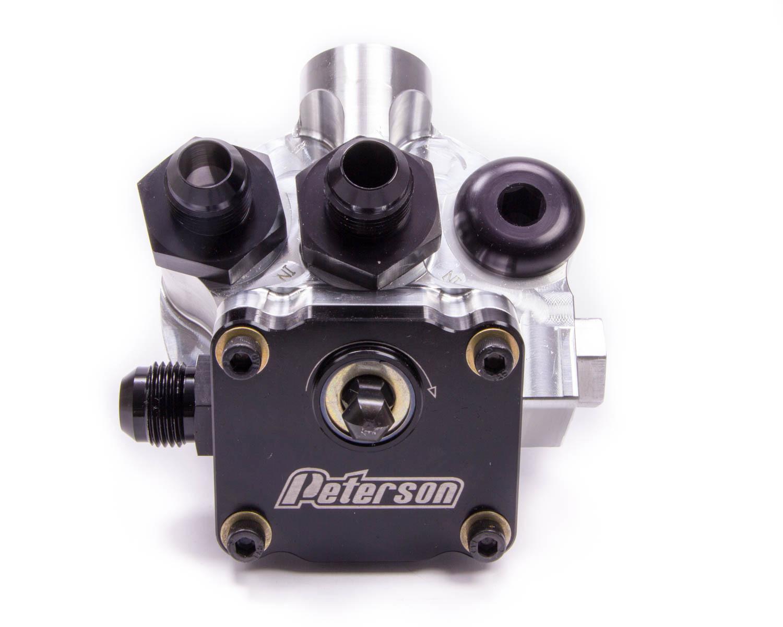 Peterson Fluid Engine Primer Oil Filter Mount 12an