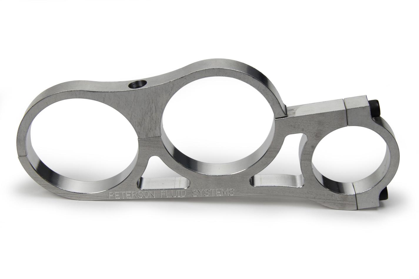 Peterson Fluid Inline Dual Filter Brkt Fits 1.75in Tubing Each