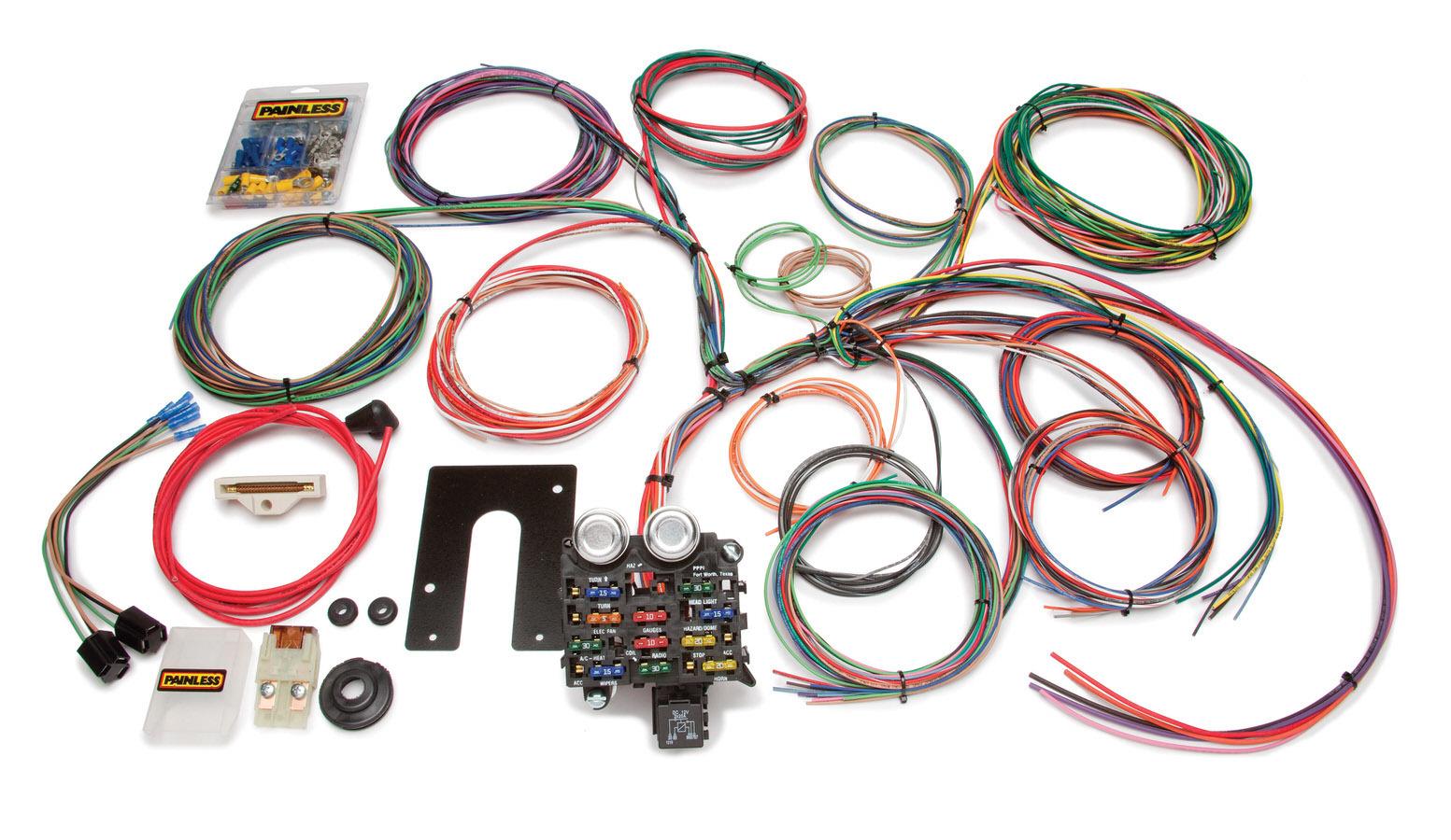 Painless Wiring Wiring Harness CJ2-5Jeep w/Thru Firewall Grommet