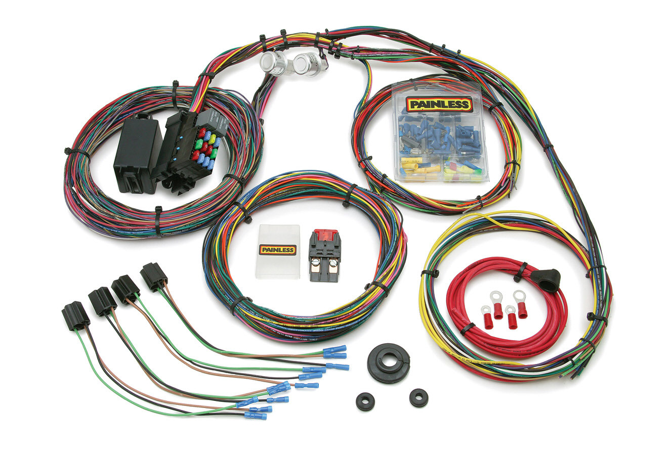 Painless Wiring Mopar Muscle Car Chassis Harness 21 Circuits