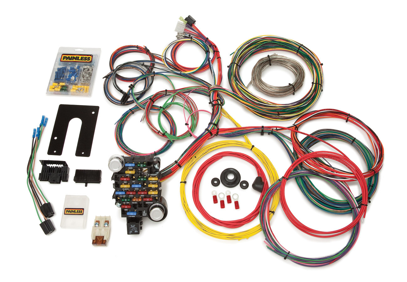 Painless Wiring 28 Circuit Harness For PU&4x4 GM Keyed Steering