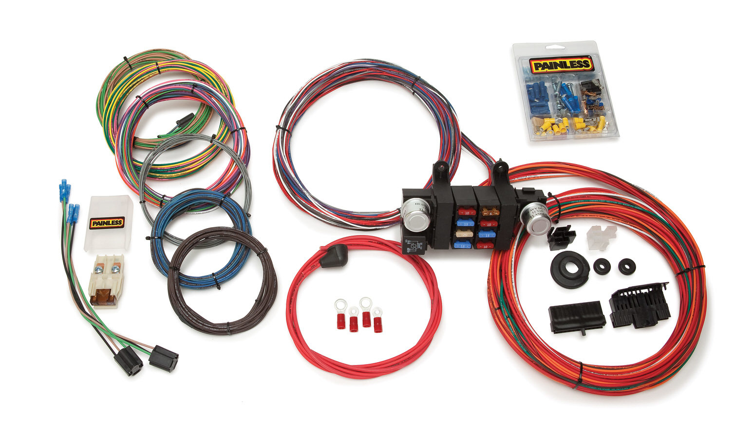Painless Wiring 18 Circuit T-Bucket Wiring Harness