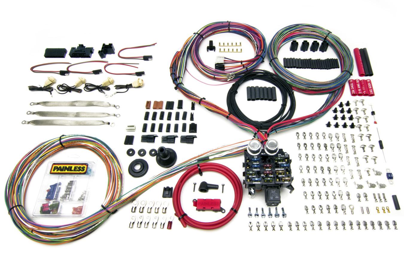Painless Wiring 23 Circuit Harness - Pro Series GM Keyed Colum