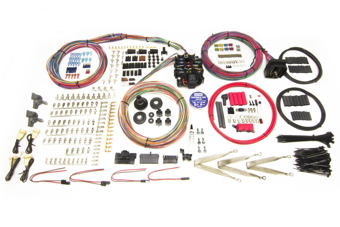 Painless Wiring 23 Circuit Harness - Pro Series Key In Dash