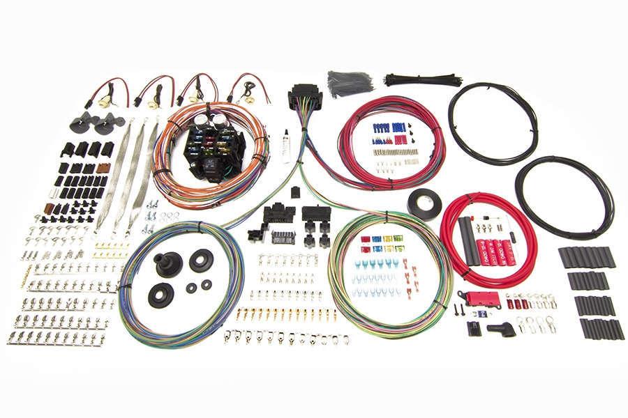 Painless Wiring 23 Circuit Harness - Pro Series Truck GM Key