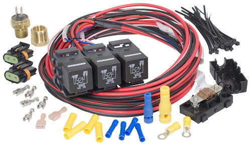 Painless Wiring Dual Activation/Dual Fan Relay Kit On 195 off 185