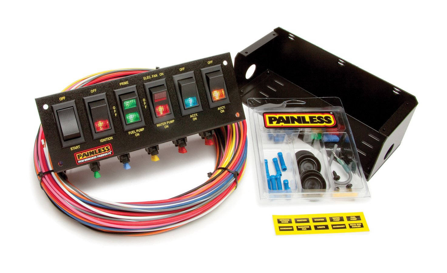 Painless Wiring 6 Switch Panel W/Harness