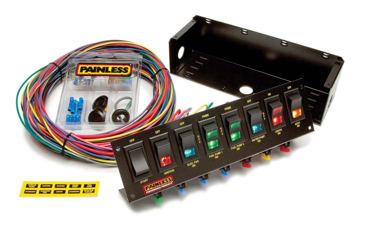 Painless Wiring 8 Switch Panel W/Harness