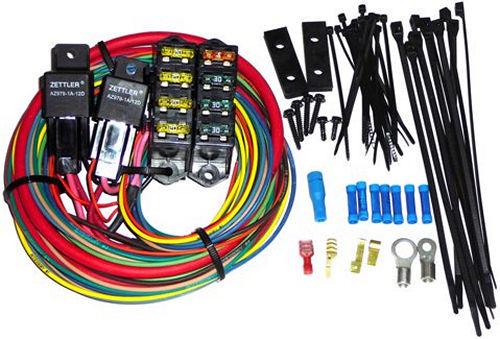 Painless Wiring 7 Circuit HD High Amp Dual 70 Amp Relays