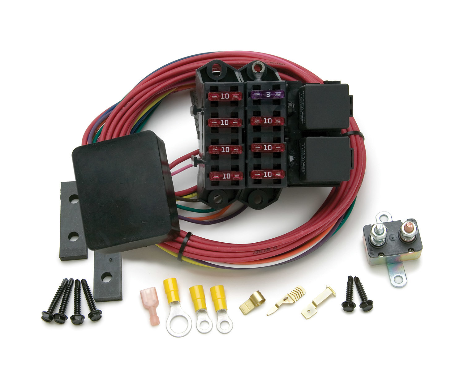 Painless Wiring 7 Circuit Fuse Block Weather Resistant