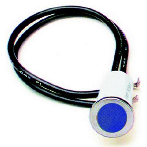 Painless Wiring 1/2in Blue Dash Light