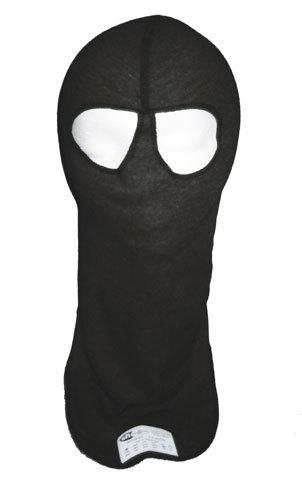 Pxp Racewear Head Sock Black Dual Eyeport 2 Layer