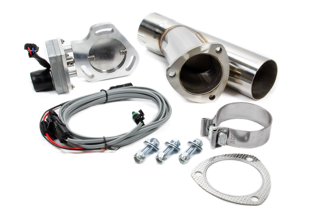 Pypes Performance Exhaust 3in Electric Dump-single