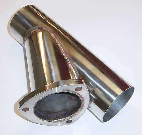 Pypes Performance Exhaust Y Cutout 3in 304 stainless