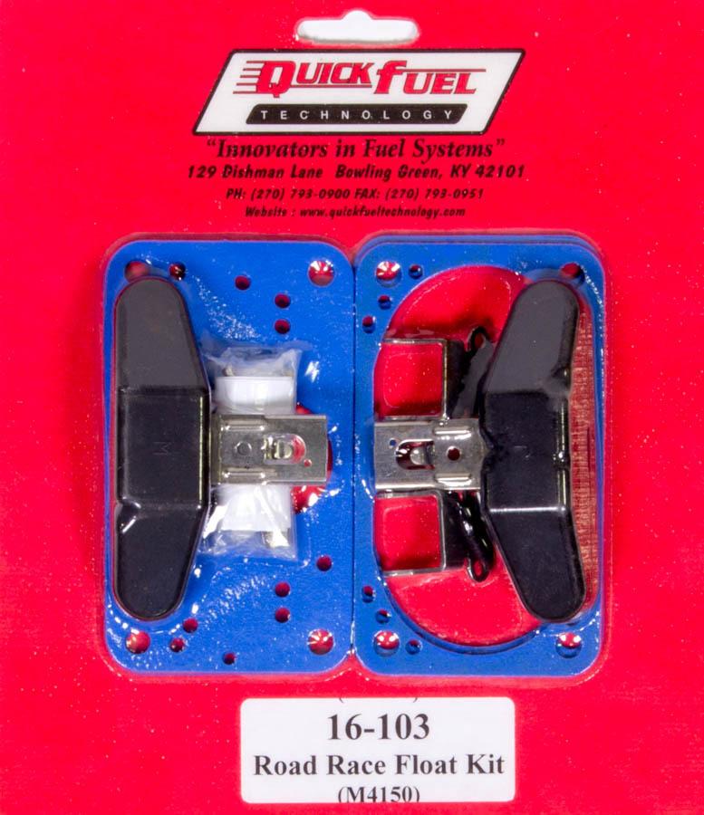 Quick Fuel Technology 4 bbl. Road Race Float K it