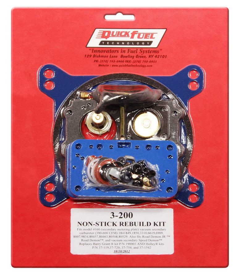Quick Fuel Technology 4160 Rebuild Kit - Non-Stick